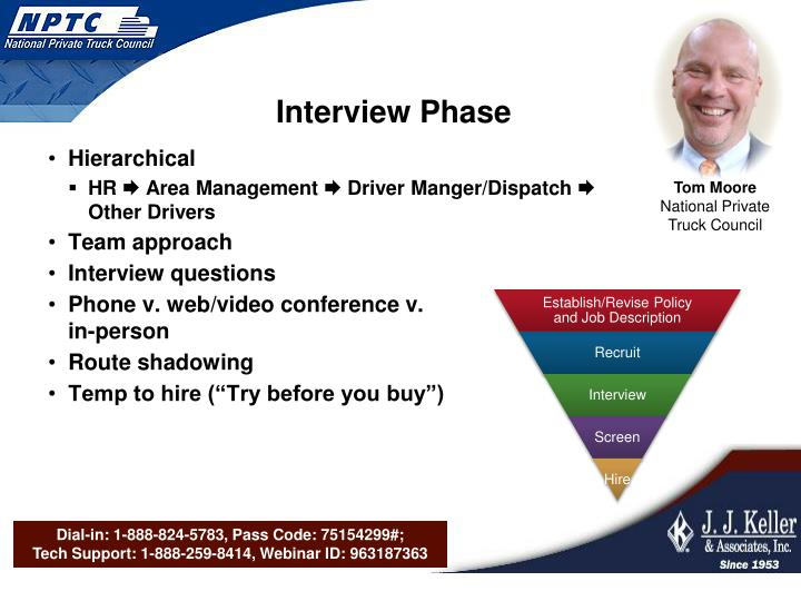 Interview Phase