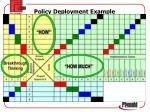 policy deployment example