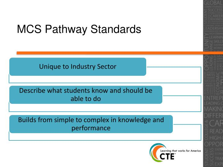 MCS Pathway Standards