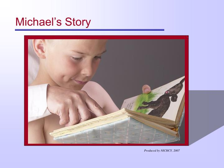 Michael's Story
