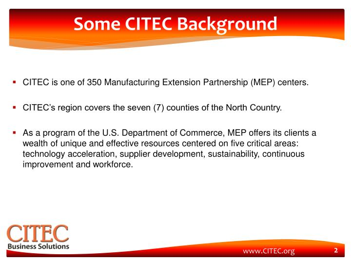 Some citec background