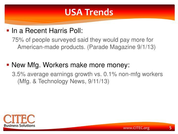USA Trends