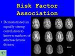 risk factor association