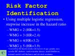 risk factor identification1