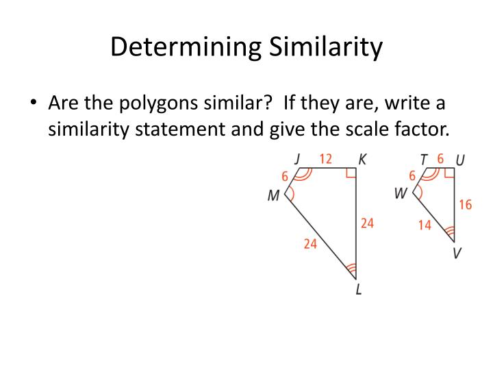 Determining Similarity