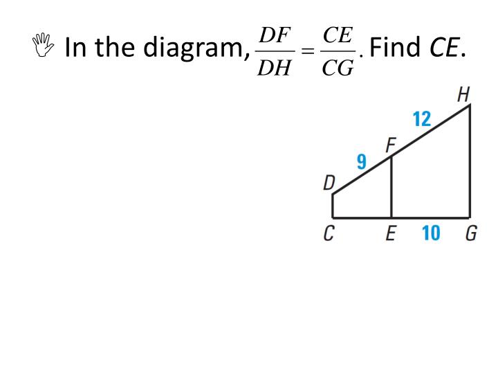  In the diagram,                 Find
