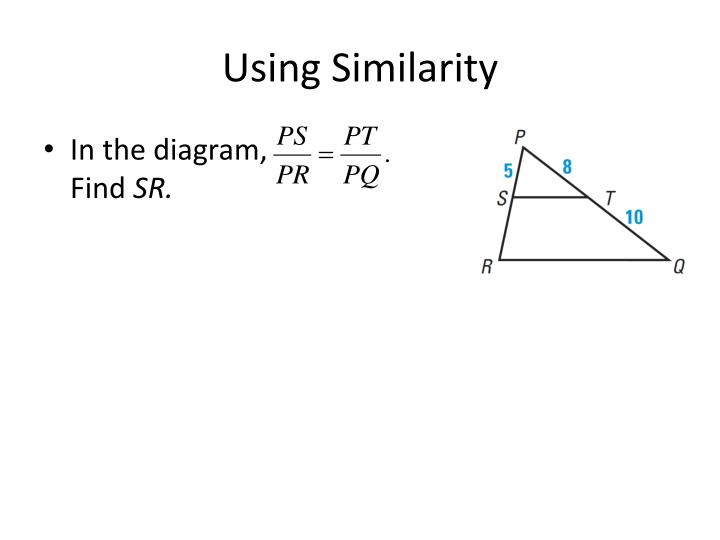 Using Similarity