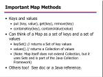 important map methods