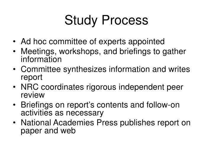 Study Process
