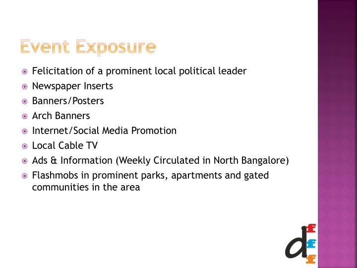 Event Exposure