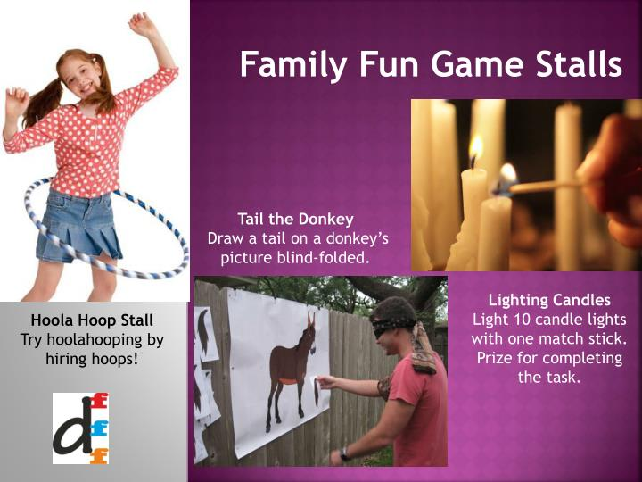 Family Fun Game Stalls