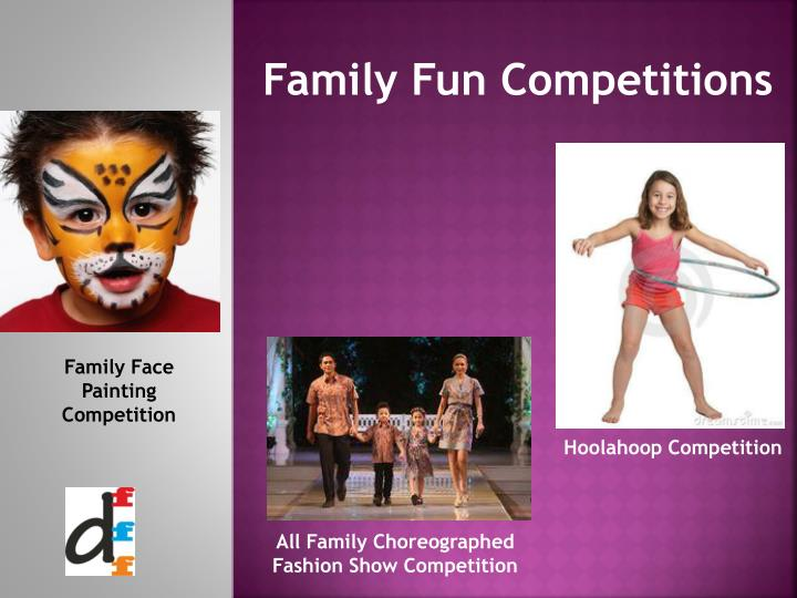 Family Fun Competitions