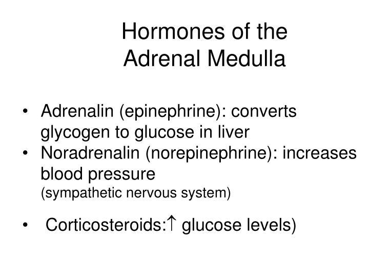 Hormones of the Adrenal Medulla