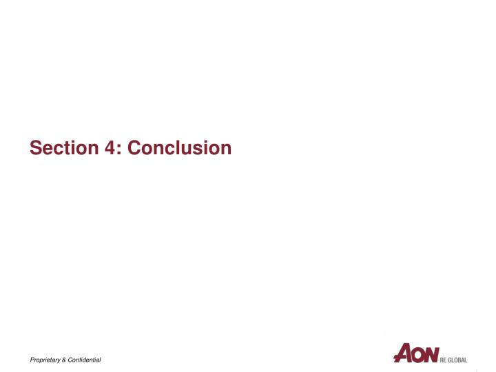 Section 4: Conclusion