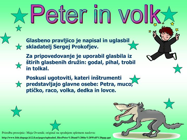 Peter in volk