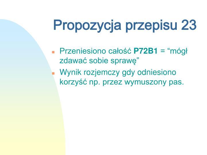 Propozycja przepisu 23