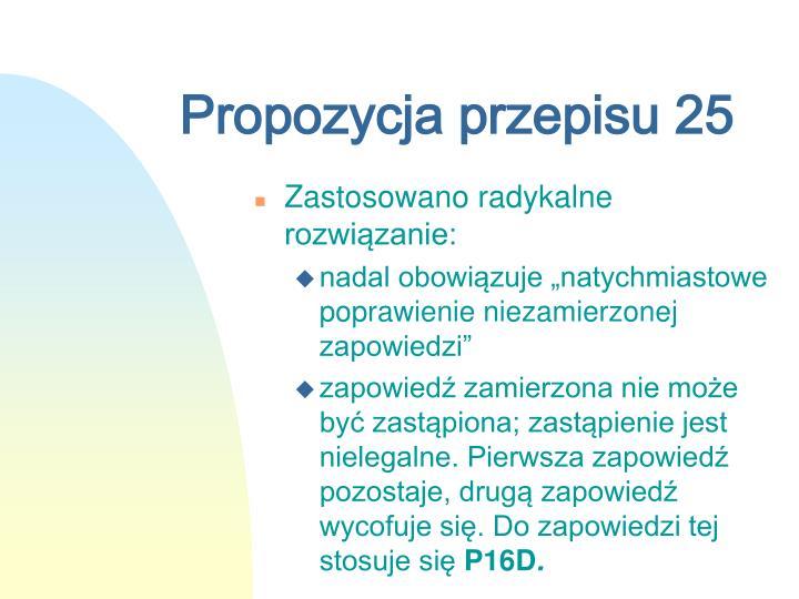Propozycja przepisu 25