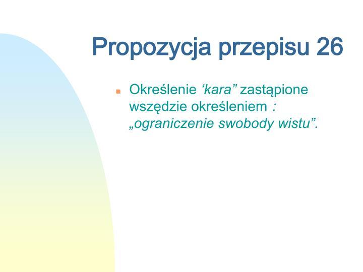 Propozycja przepisu 26