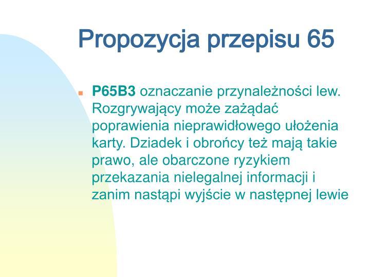 Propozycja przepisu 65