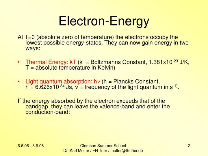 Electron-Energy