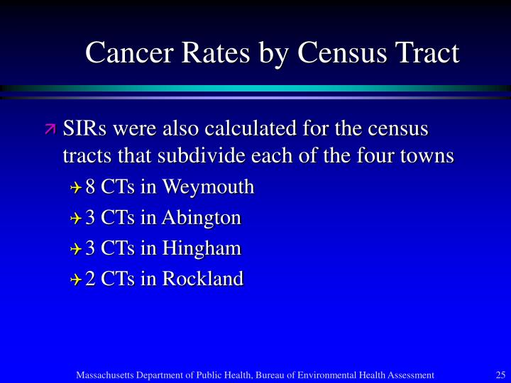 Cancer Rates by Census Tract