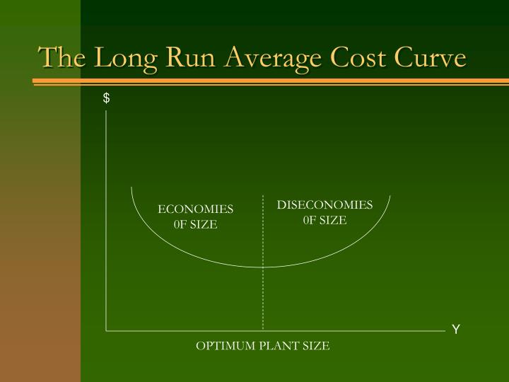 The Long Run Average Cost Curve
