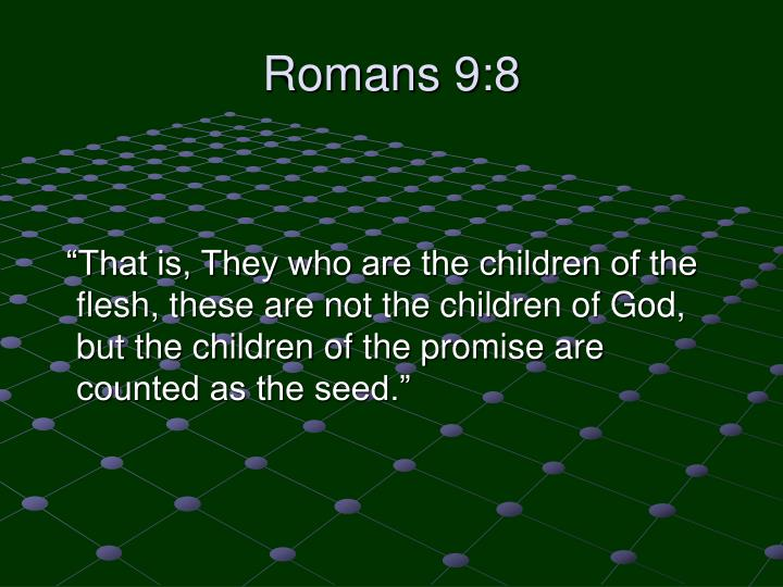 Romans 9:8