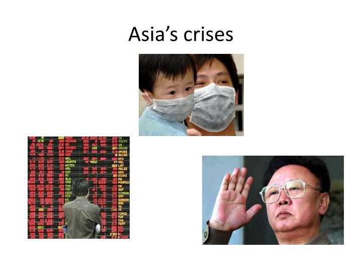 Asia's crises