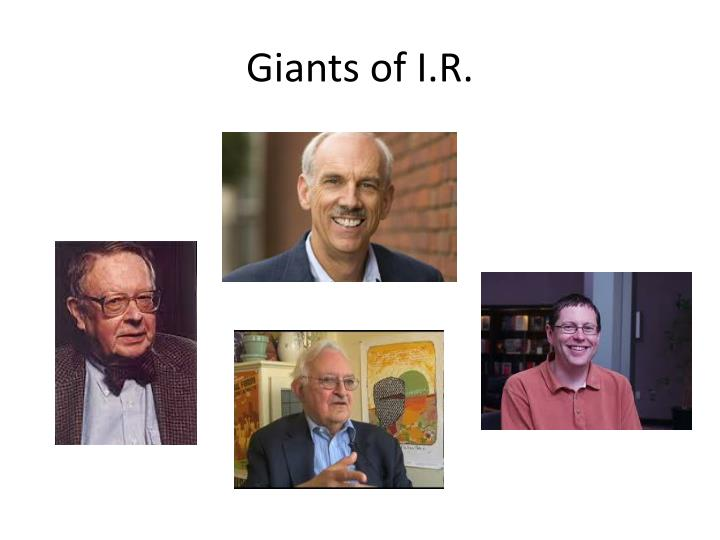 Giants of I.R.