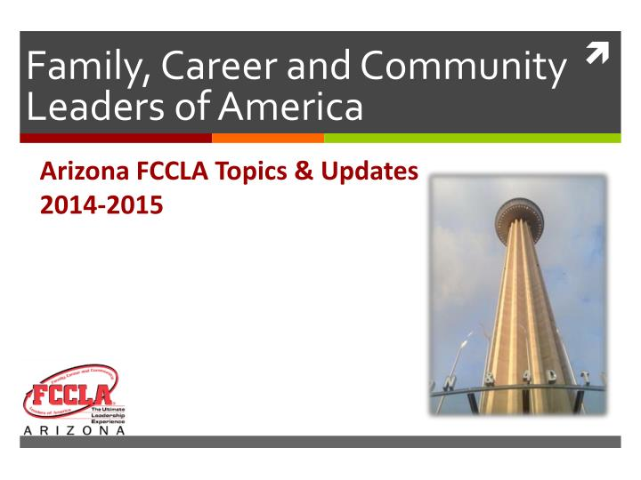 Family career and community leaders of america