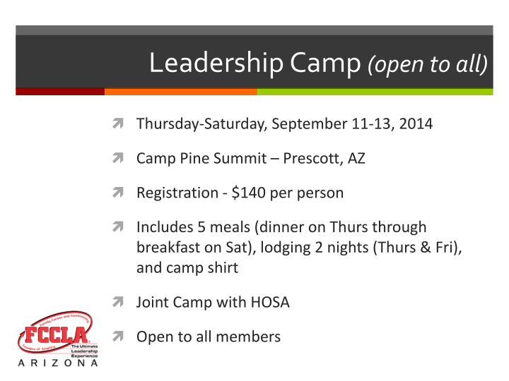 Leadership Camp