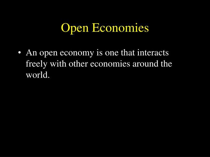 Open Economies
