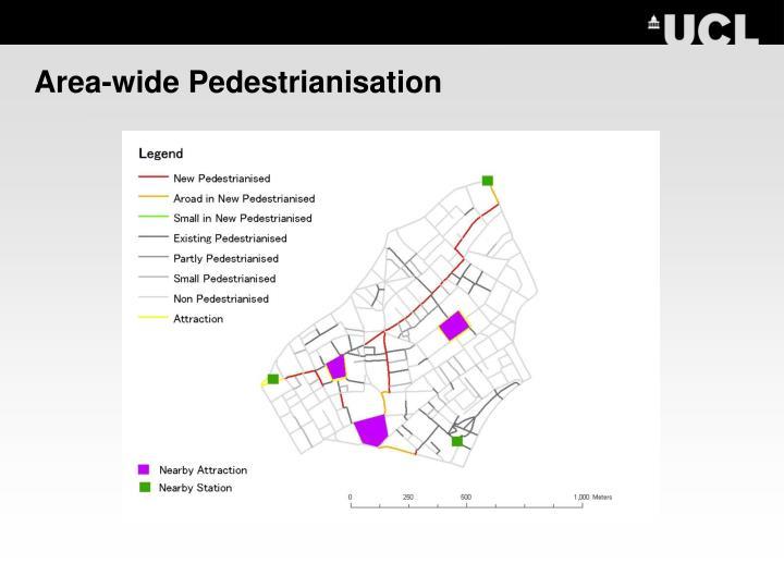 Area-wide Pedestrianisation