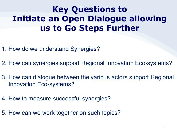 Key Questions to