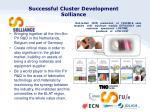 successful cluster development solliance