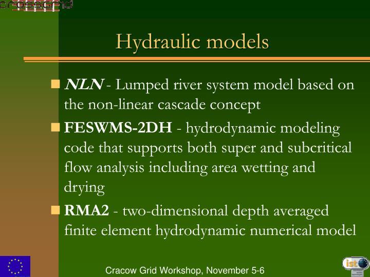 Hydraulic models
