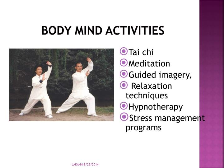 Body Mind Activities