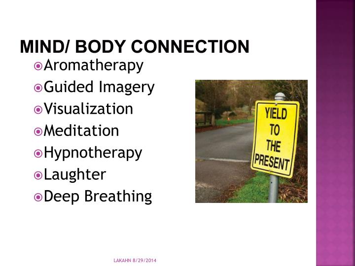 Mind/ Body Connection