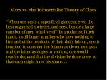 marx vs the industrialist theory of class3