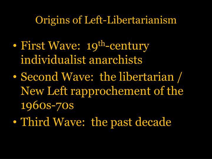 Origins of Left-Libertarianism
