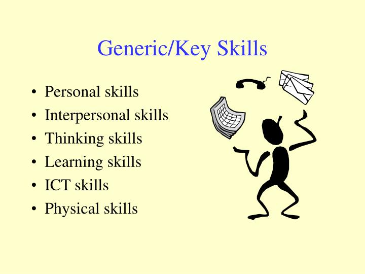 Generic/Key Skills