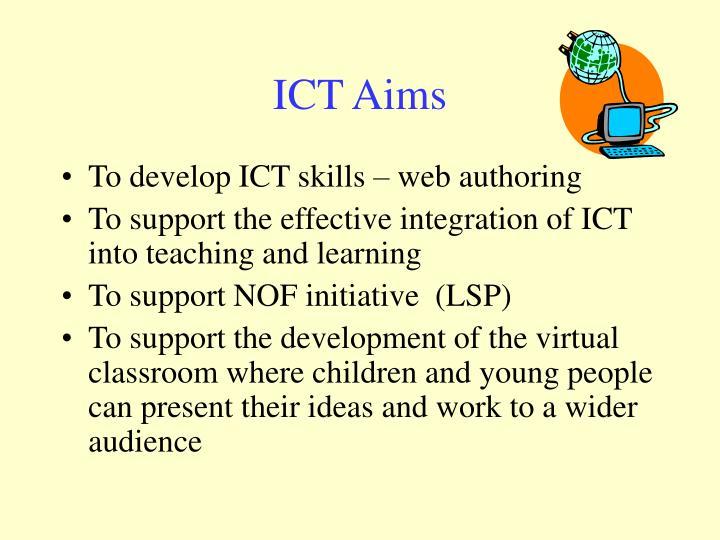 ICT Aims