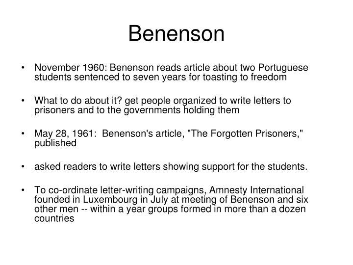 Benenson