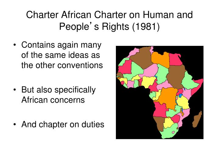 Charter African Charter on Human and People