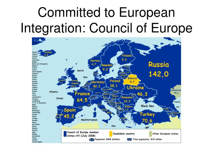 Committed to European Integration: Council of Europe