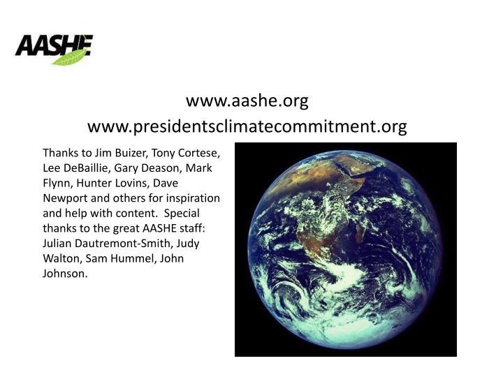 www.aashe.org