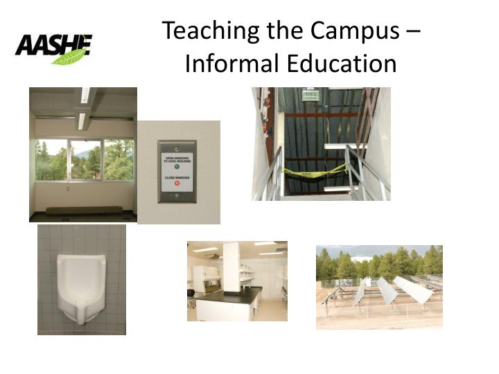 Teaching the Campus – Informal Education