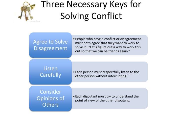 Three Necessary