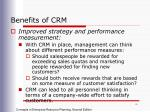 benefits of crm1