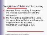integration of sales and accounting1